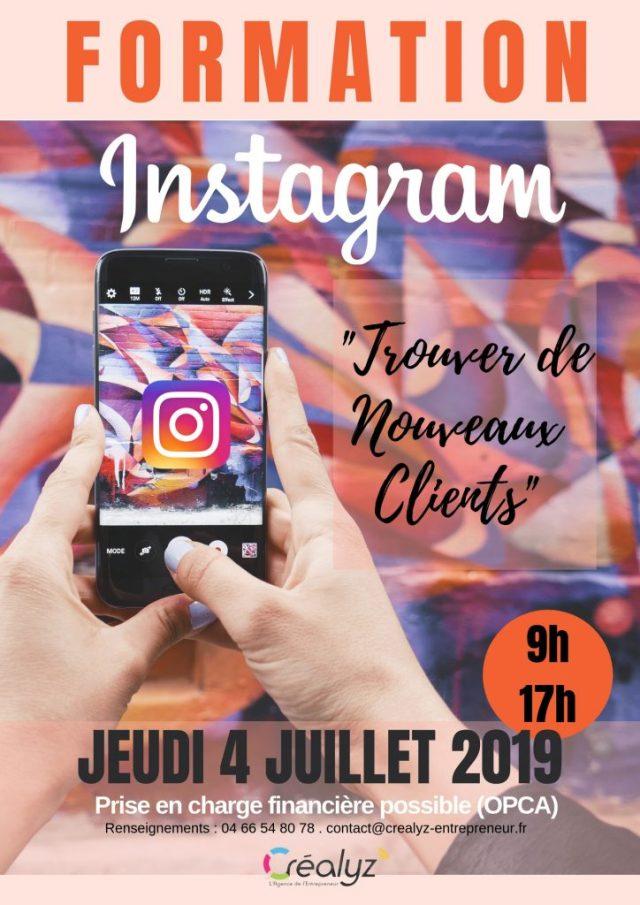 formation instagram entreprise