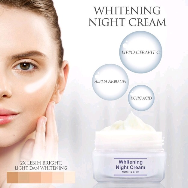 Kemasan Baru Whitening Night Cream