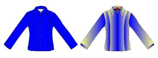 Patrones de blusas estilo corte princesa