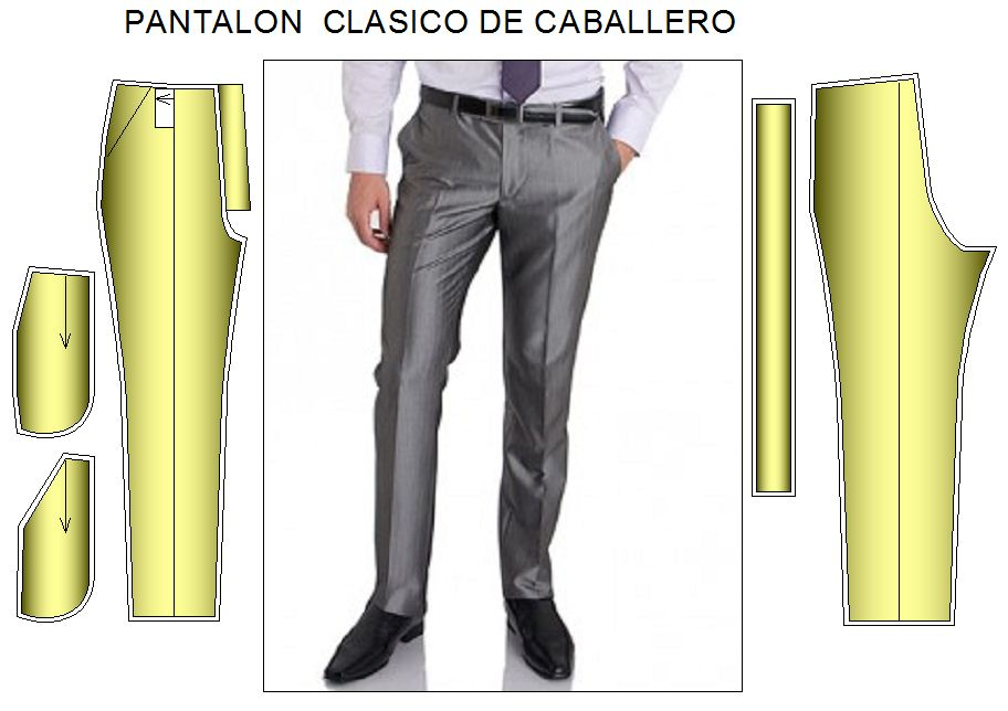 Tallje de pantalon de hombre