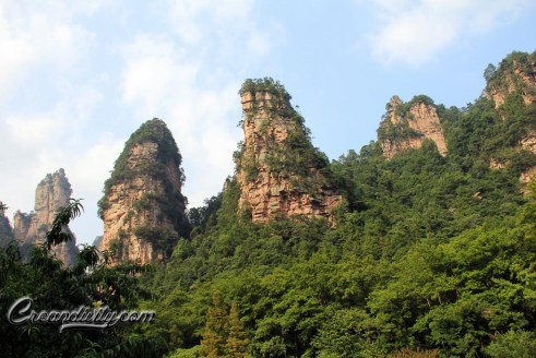 Mountains of Zhang Jia Jie