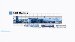 Site du concessionnaire Mazda BAB Motors à Bayonne