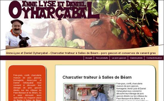 Charcutier traiteur à Salies de Béarn. Anne-Lyse et Daniel Oyharçabal vous convient à découvrir leur élevage de porc gascon élevés sur les côteaux du Pays-Basque et du Béarn.