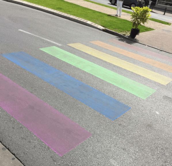 Un passage piéton LGBT pour lutter contre l'homophobie à Périgueux