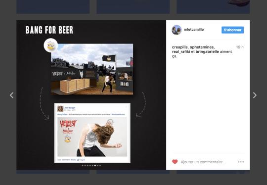 Cette team créa détourne Instagram à la recherche d'une alternance