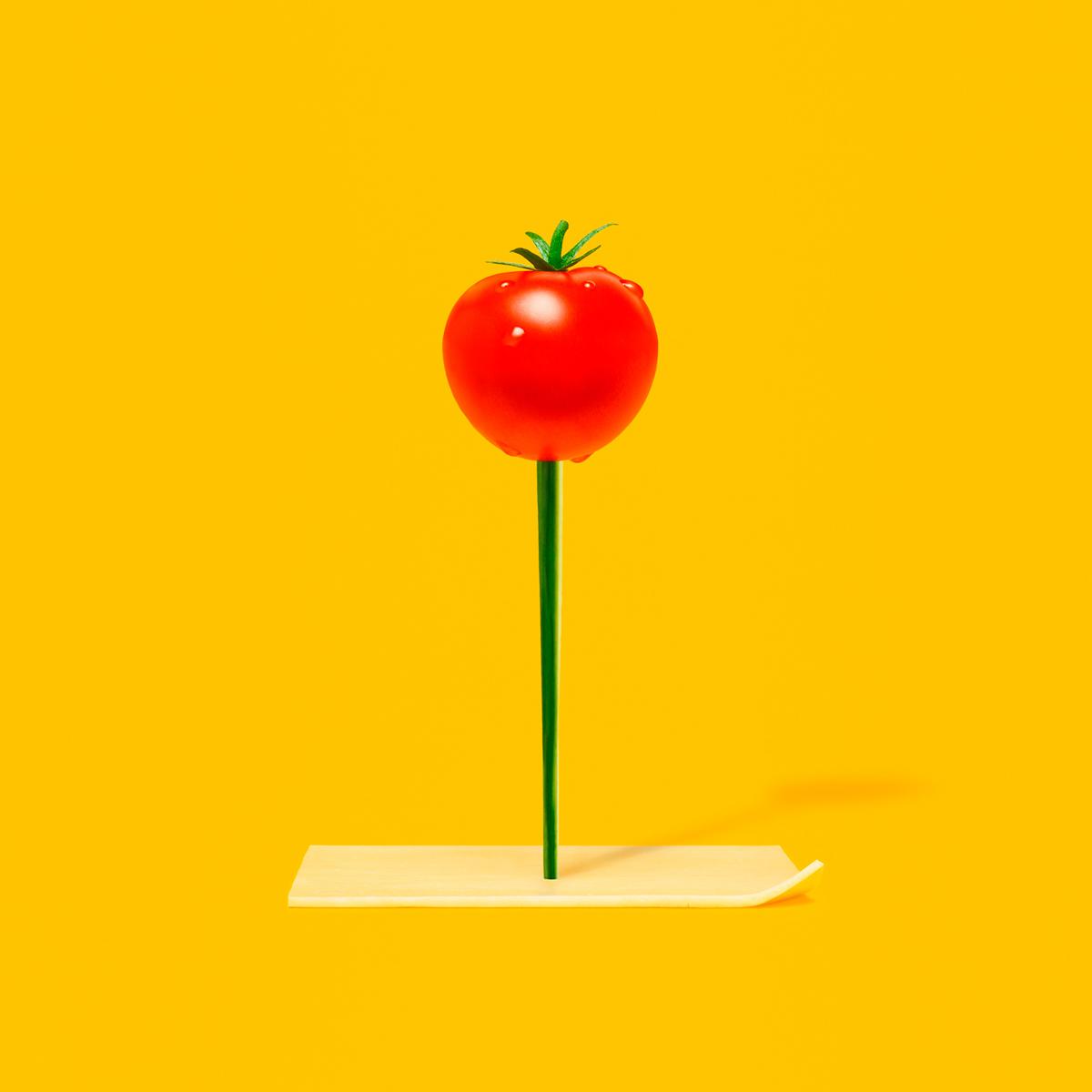 Des mises en scène étonnantes réalisées avec des légumes pour Subway