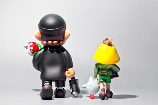 Cette figurine Super Mario rend un bel hommage créatif au film Léon