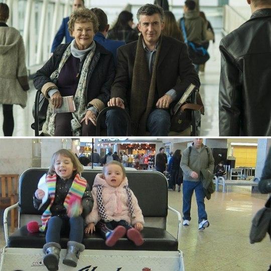Cette maman et ses 3 filles s'amusent à détourner des scènes de films