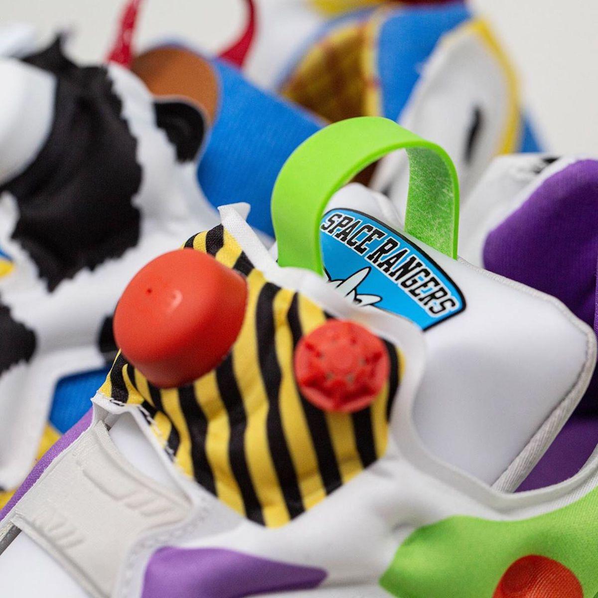 Pour la sortie de Toy Story 4, Reebok dévoile des sneakers