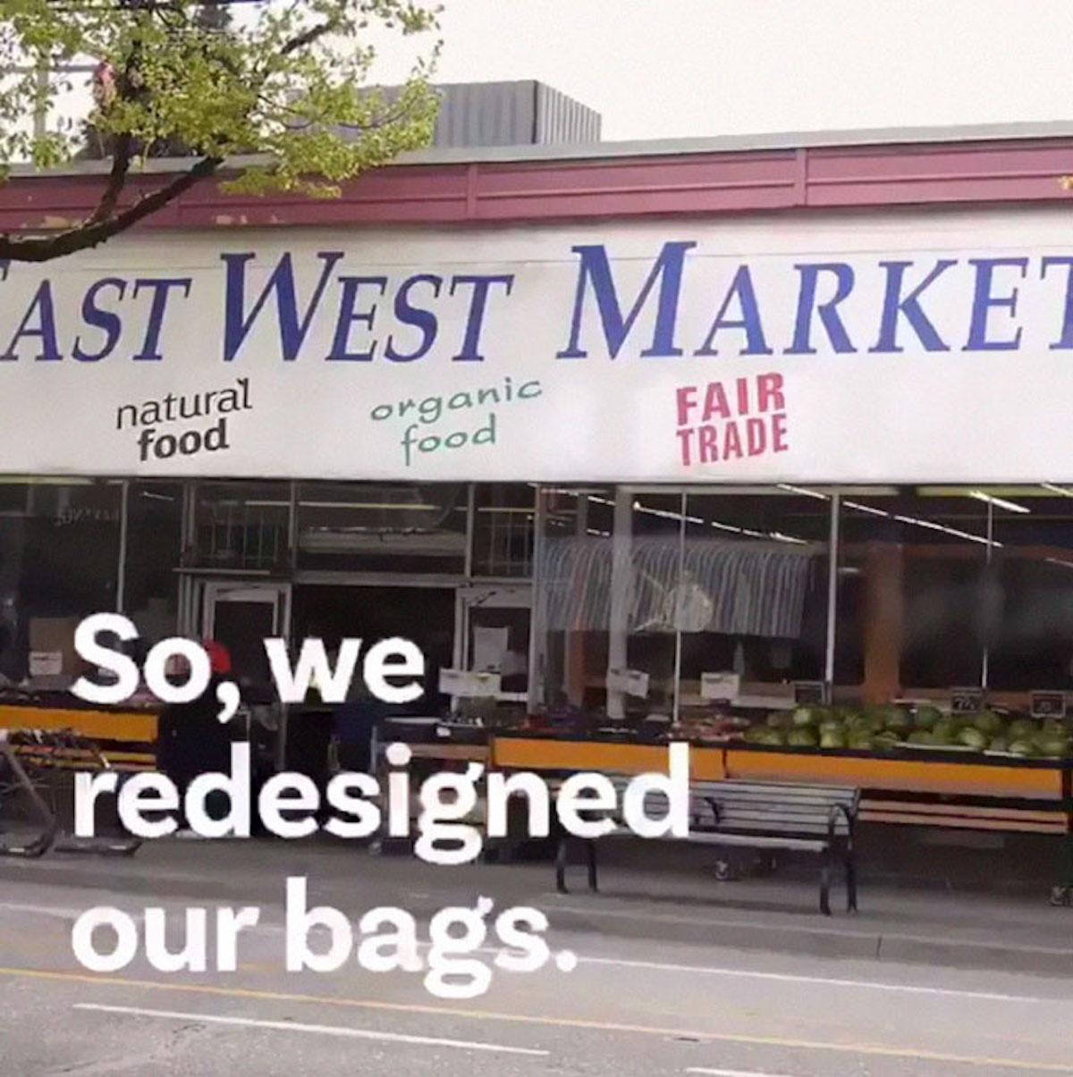 Sacs de la honte East West Market Canada