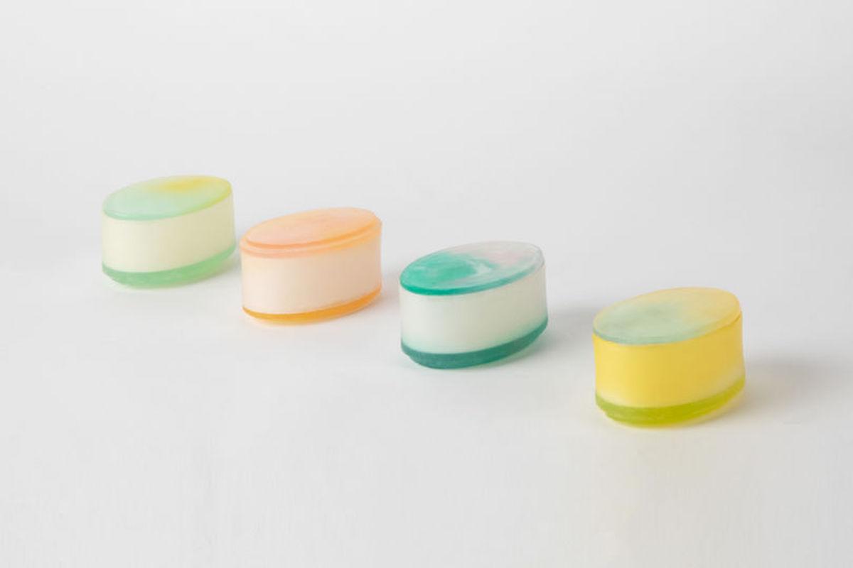 Mi Zhou contenants en savon