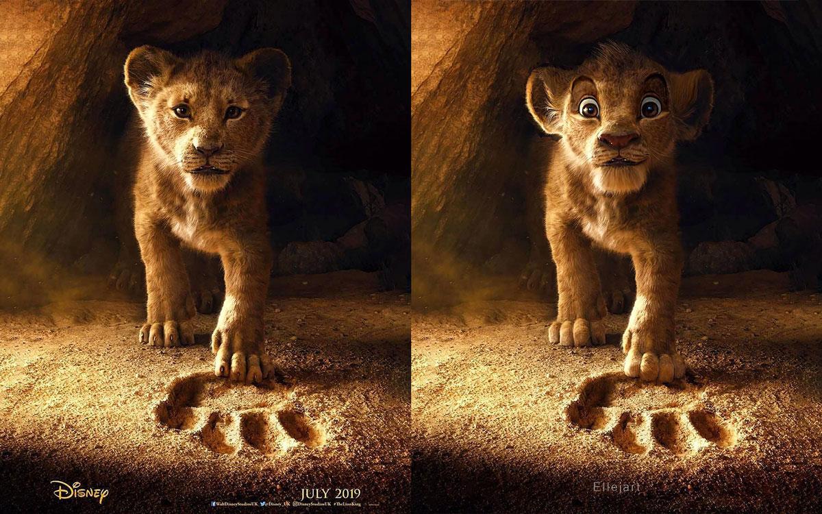 Illustrations Roi Lion Nikolay Mochkin
