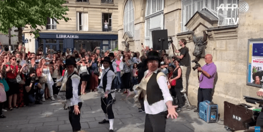 Flashmob Rabbi Jacob Paris