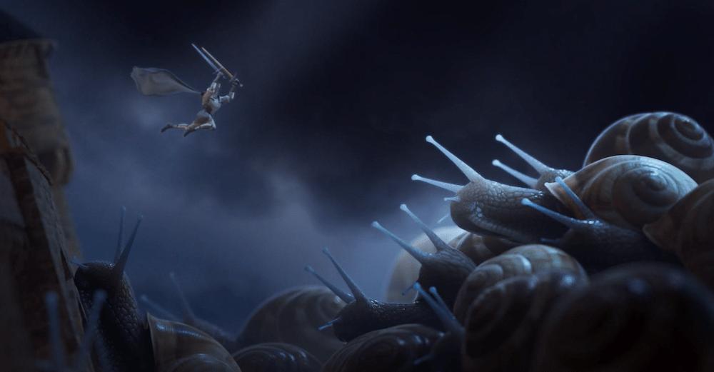 Court-Métrage 3D Isart Digital Escargots Cochlea