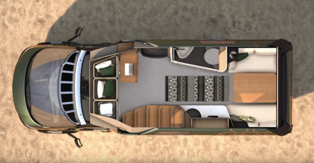 Ce camping-car futuriste intègre le confort d'un appartement pour révolutionner le camping ! By Mélanie D. Hymer-camping-car-van-luxe-9