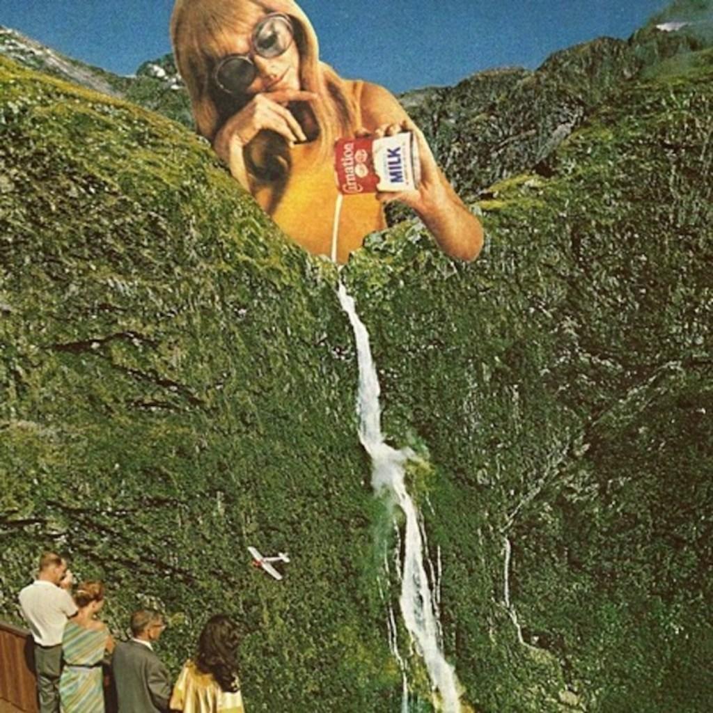 collages surrealistes photos vintage 1 - Կոլաժային սյուրռեալիզմ