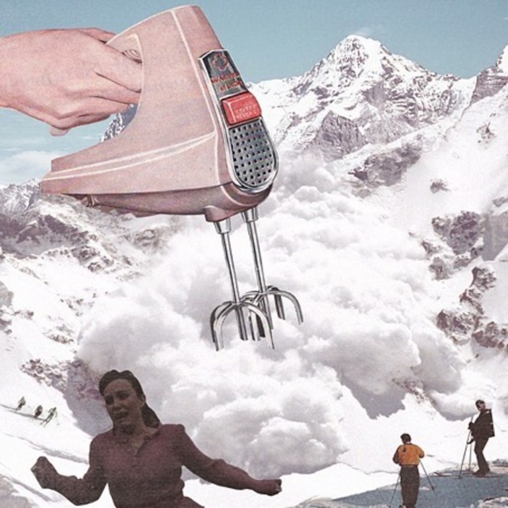 collages surrealistes photos vintage 2 - Կոլաժային սյուրռեալիզմ