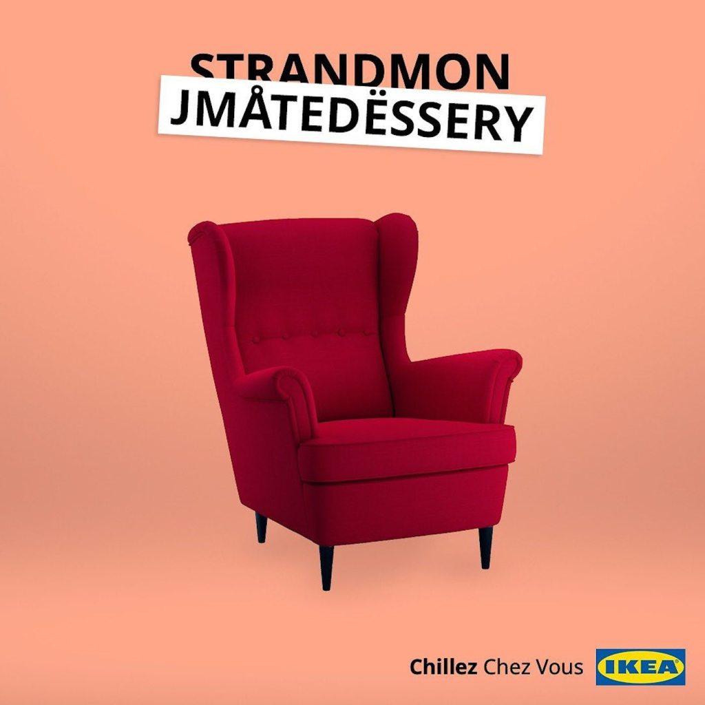 IKEA détourne le nom de ses meubles pour le confinement