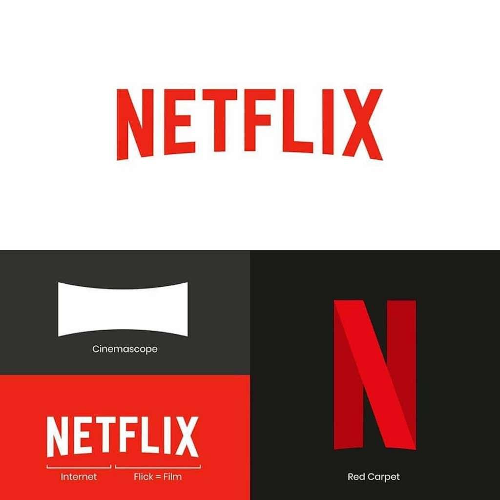 Origine du logo Netflix