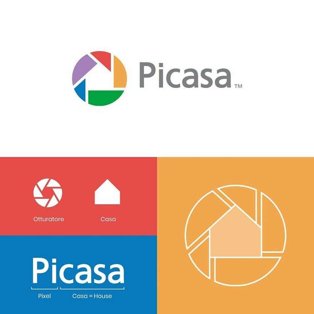 Origine du logo Picasa