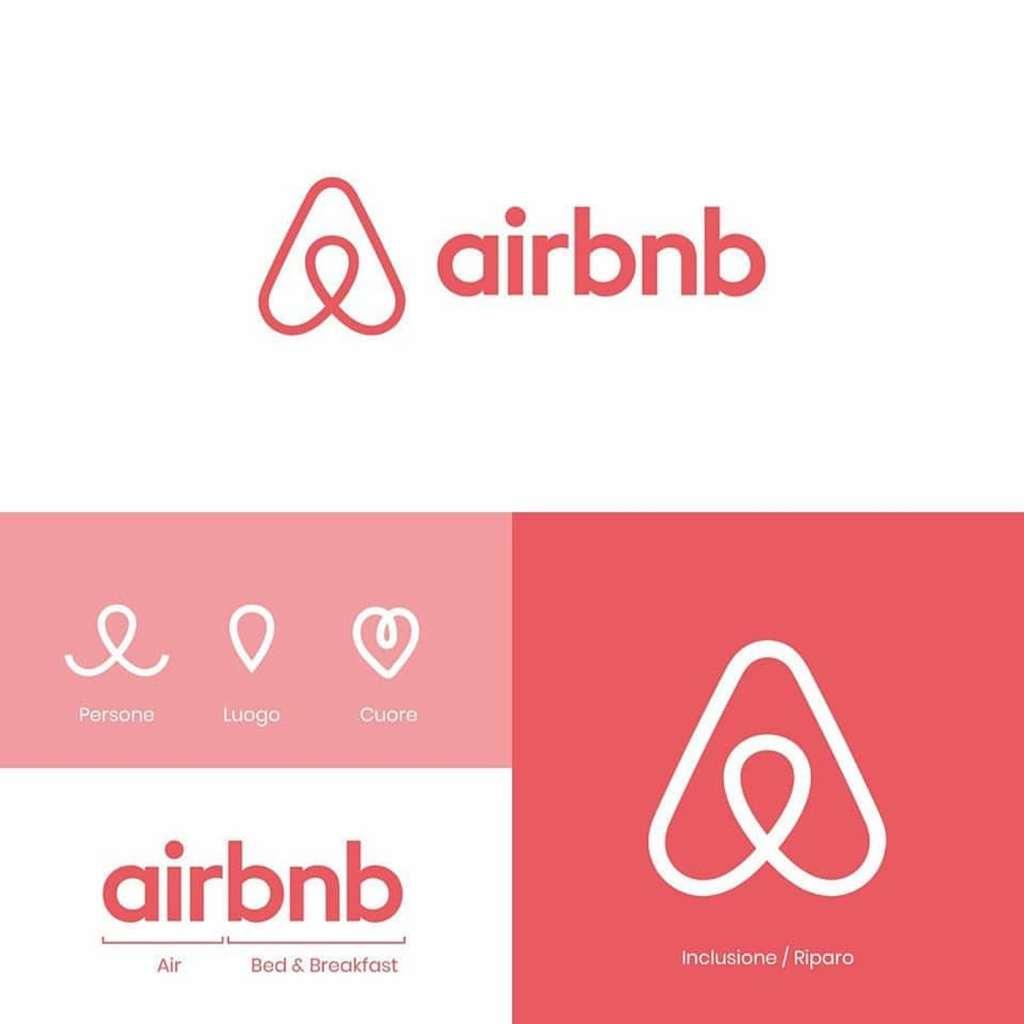 Origine du logo Airbnb