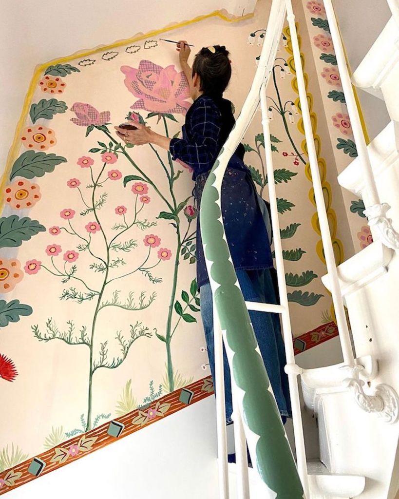 La maison repeinte de Nathalie Lété