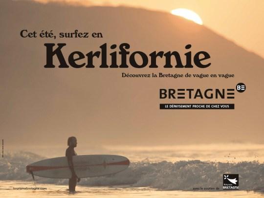 Kerlifornie : la campagne de pub pour le tourisme en Bretagne