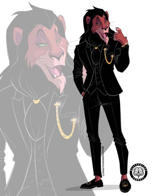 Marco The Artiste transforme les personnages du Roi Lion en humains