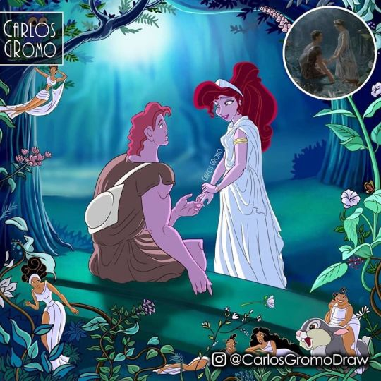 Carlos Gromo détourne les tableaux célèbres avec les personnages Disney