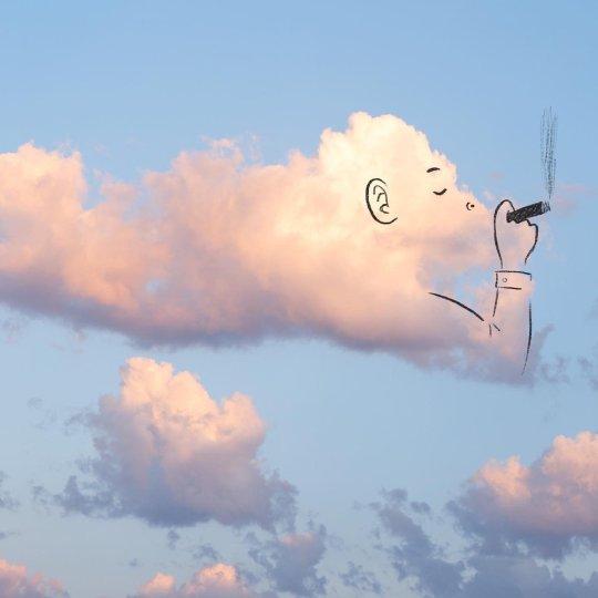 L'illustrateur Chris Judge transforme les nuages en personnages créatifs