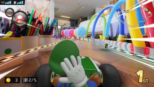 Nintendo lance une version de Mario Kart qui se joue en vrai dans votre salon