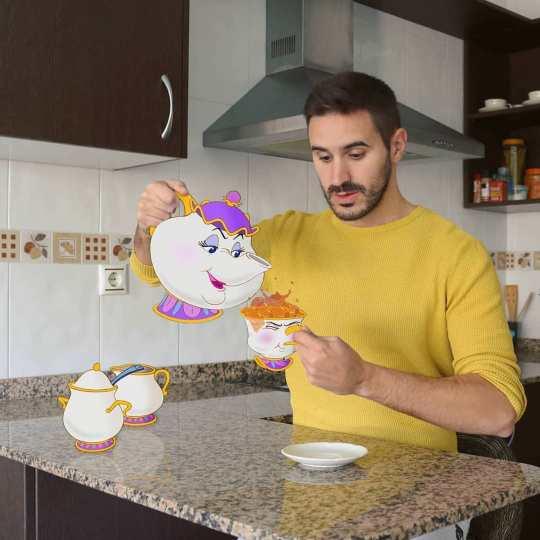 Le créatif Samuel MB incruste les personnages Disney dans son quotidien avec talent et humour