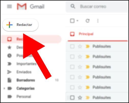 redactar correo Gmail