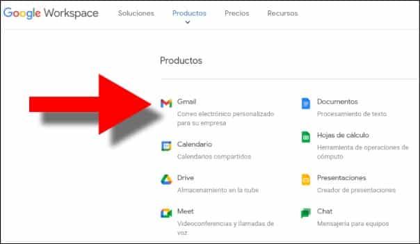 correo gmail para empresas