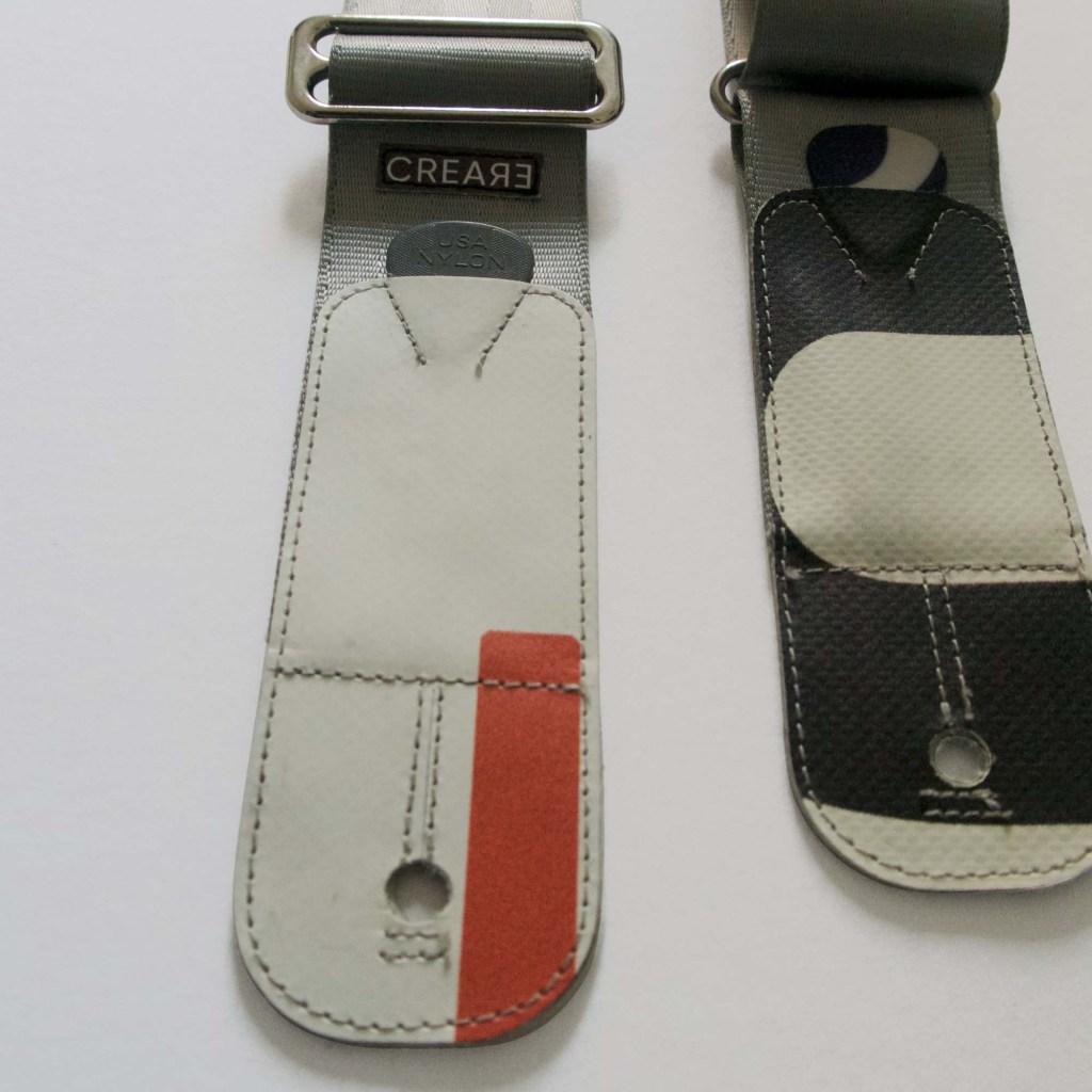 www.crearebags.com eco guitar strap c
