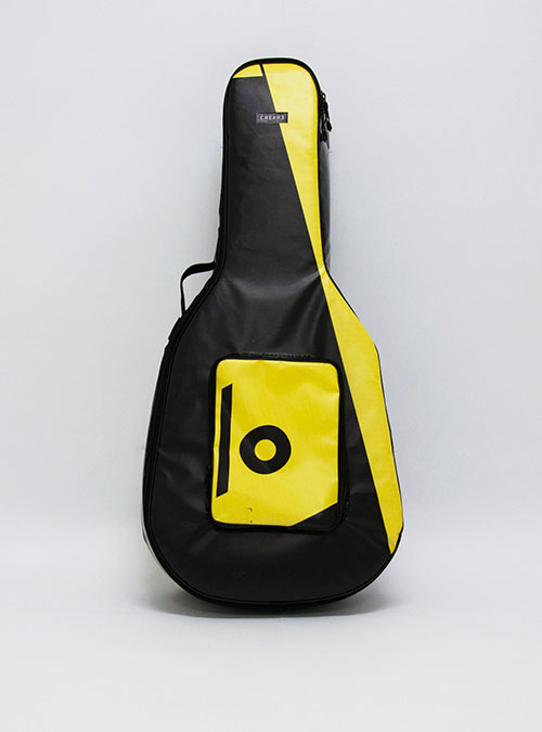 eco acoustic guitar bag www.crearebags.com
