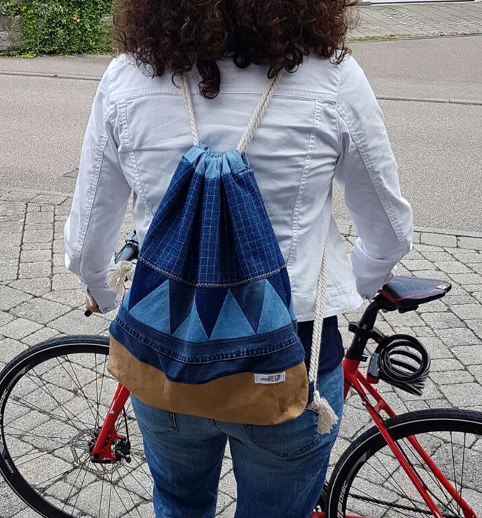 Rucksack - ideal zum Radeln