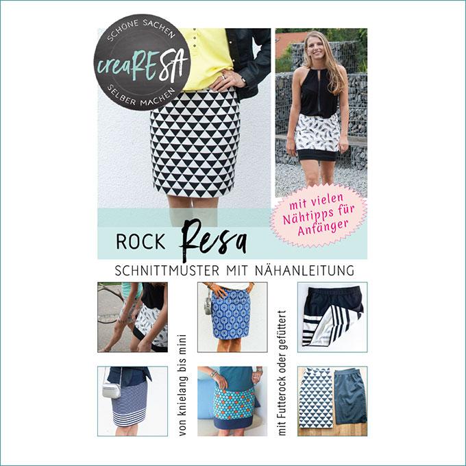 Rock Resa – Neues Schnittmuster jetzt online - crearesa.de