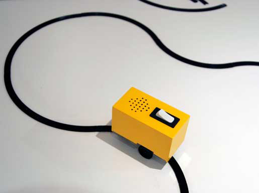 Sound Chaser de Yuri Suzuki