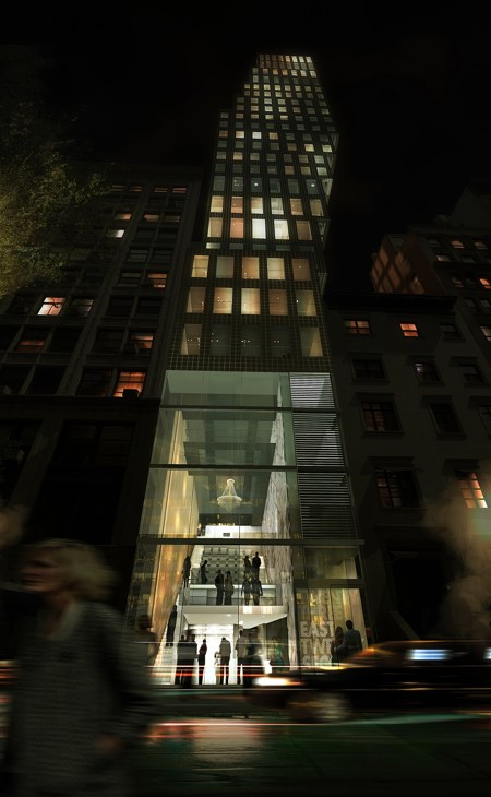 23 east 22nd street by night