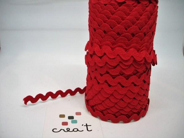 Cinta ondulina vermell Crea't