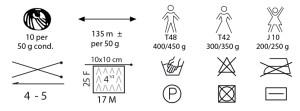 Gocce Cristallo Mondial Etiqueta Instruccions