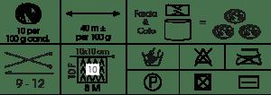 BIO-LANA-BIG Etiqueta