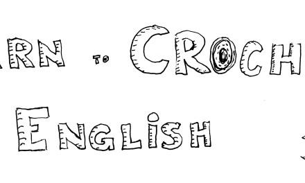 Learn to Crochet in English – Curso de inicación al ganxillo en inglès