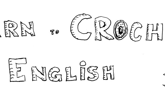 Learn to Crochet in English – Curso de inicación al ganxillo en inglès
