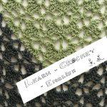 The Cloister Shells Shawl – Xal de petxines, en anglès