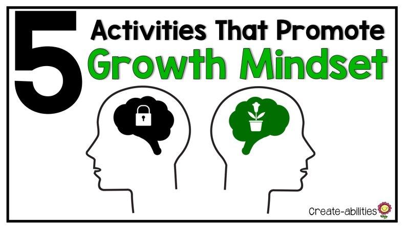 5 Growth Mindset Activities
