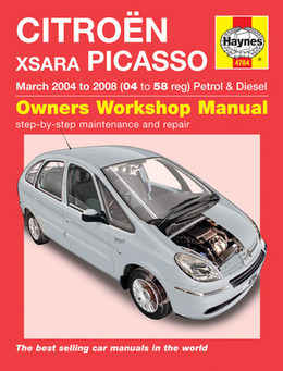 citroen xsara picasso | haynes manual | repair manual