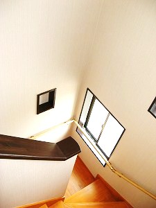 安全性に配慮した階段
