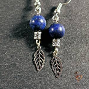 Boucles d'oreilles Lapis-Lazuli